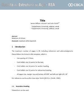 Download the formatting of articles in DOC