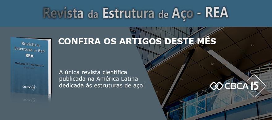 Confira a nova edição da Revista da Estrutura de Aço - REA