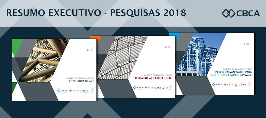 Resumo executivo - pesquisas 2018