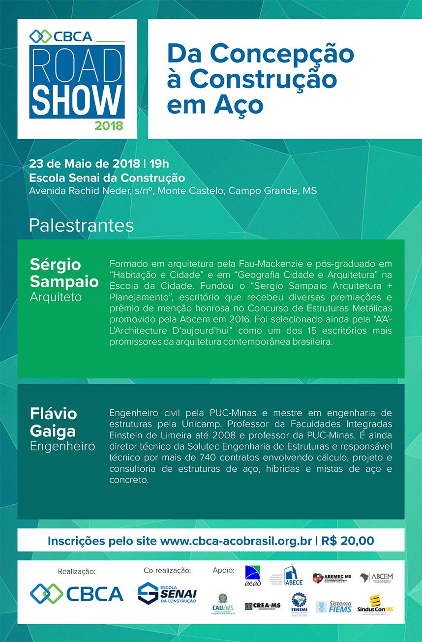 RoadShow : Da Concepção à Construção em Aço | Campo Grande - MS